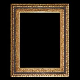 antique black and gold frame